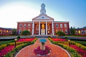 Southern Seminary Norton Hall photograph by Alex Mason